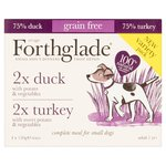 Forthglade Variety Duck & Turkey Complete Meal Adult 1 Yr+