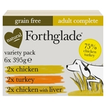 Forthglade Variety Complete Meal Adult 1 Yr+