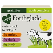 Forthglade Complete Meal Grain Free 6 X 395G