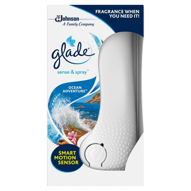 Glade Sense & Spray Automatic Freshener Holder Ocean Adventure