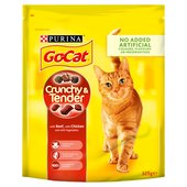 Go - Cat Crunchy & Tender With Chicken & Vegetables