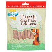 Good Boy Duck & Hide Twisters Dog Treats