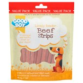 Good Boy Beef Strips Dog Treats