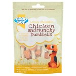 Good Boy Chicken & Munchy Dumbbells Dog Treats