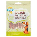 Good Boy Lamb & Hide Twisters Dog Treats