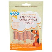 Good Boy Chicken With Carrot Sticks Dogs Treats