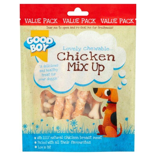 Good Boy Chicken Mix Up Dog Treats