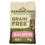 Harringtons Grain Free Rich In Salmon Adult Dog Complete