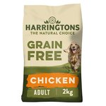 Harringtons Grain Free Rich In Chicken Adult Dog Complete