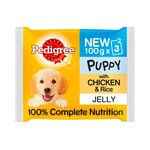 Pedigree Puppy Jelly With Chicken & Rice