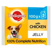 Pedigree Jelly With Chicken & Rice