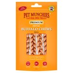 Pet Munchies 4 Small Buffalo Dental Chews 55G