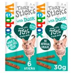 Webbox Cats Delight Tasty Sticks With Duck 6 Sticks