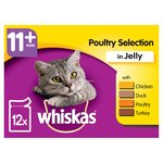 Whiskas 11+ Years Poultry Selection In Jelly