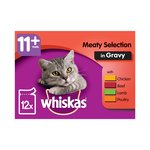 Whiskas 11+ Years Meaty Selection In Gravy