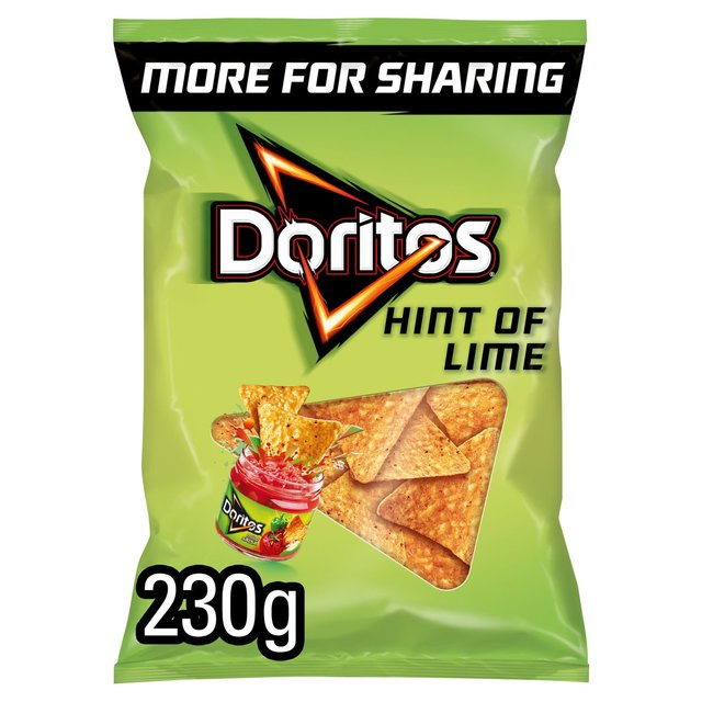 Doritos Hint of Lime Sharing Tortilla Chips