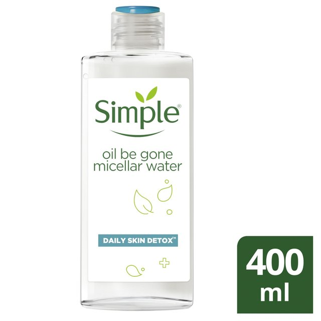 Simple Daily Skin Detox Oil Be Gone Micellar Water