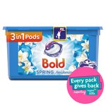 Bold 3In1 Pods Lotus Flower & Water Lily Washing Liquid Capsules