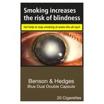 Benson & Hedges Blue Dual Double Capsule