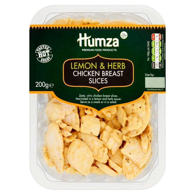 Humza Lemon & Herb Chicken Slices