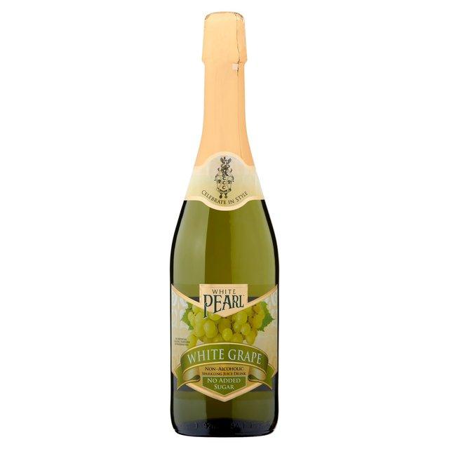 White Pearl White Grape Non-Alcoholic Sparkling Juice Drink