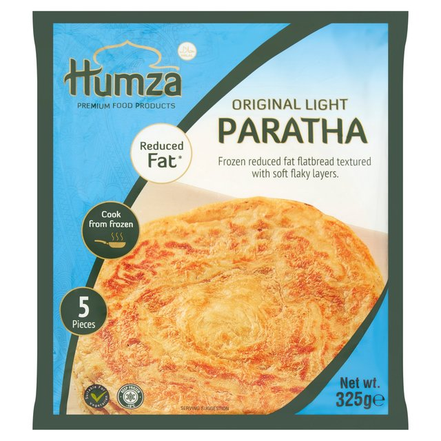 Humza Original Light Paratha 5 Pieces