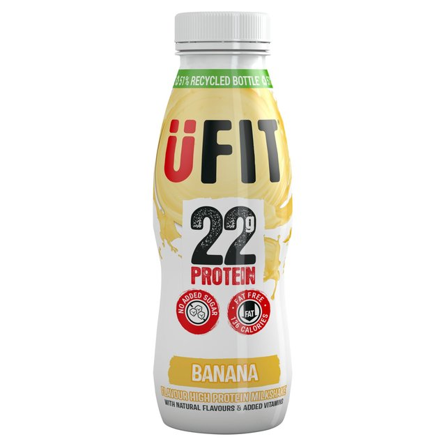 UFIT High Protein Shake Drink Banana
