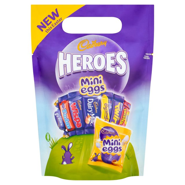 Cadbury Chocolate Heroes Easter Mix