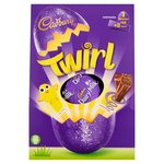 Cadbury Chocolate Twirl Large Easter Egg