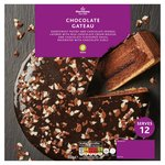 Morrisons Large Chocolate Gateau