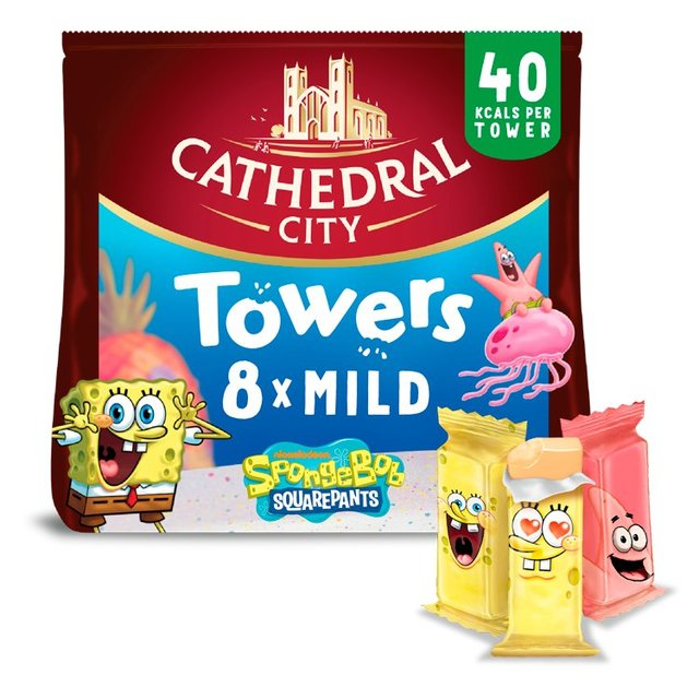 Cathedral City Kids Snack Towers Mild Lighter Cheese