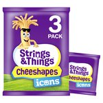 Cheestrings Cheeshapes Strings & Things Icons