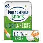 Philadelphia Light & Herbs Soft Cheese Snack