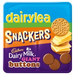 Dairylea Lunchables Snackers Cheese & Crackers with Dairy Milk Buttons
