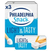 Philadelphia Light Soft Cheese Snack