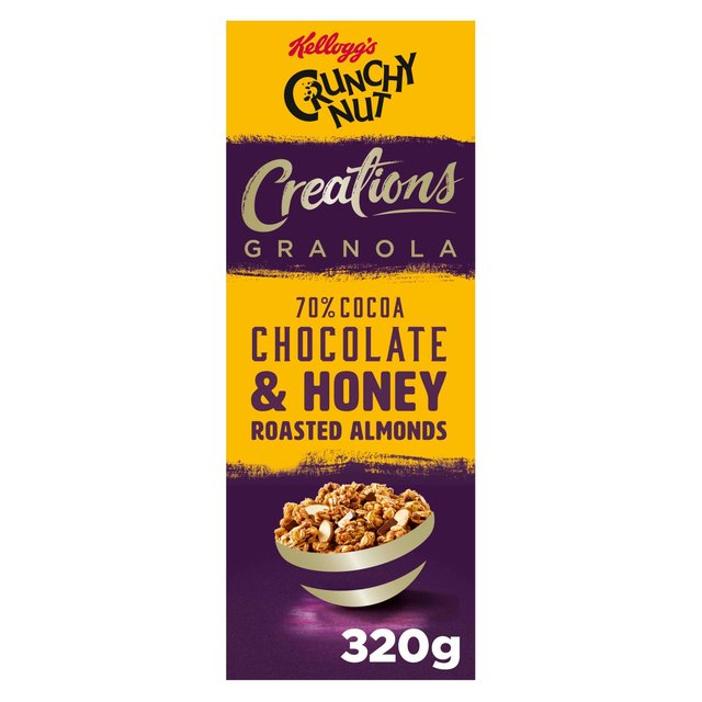Kellogg's Crunchy Nut Creations Cocoa & Nuts