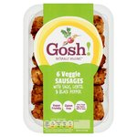 Gosh! 6 Veggie Sausages With Sage & Black Pepper