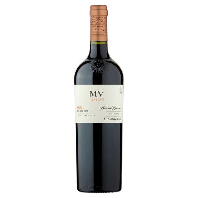 Mv Reserve Organic Malbec 75Cl
