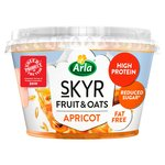 Arla Skyr Fruit & Oats Layered With Apricots
