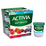 Activia Mixed Red Fruits 0% Fat