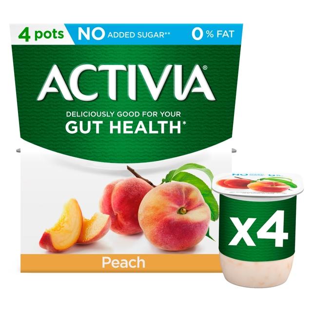 Activia Peach 0% Fat