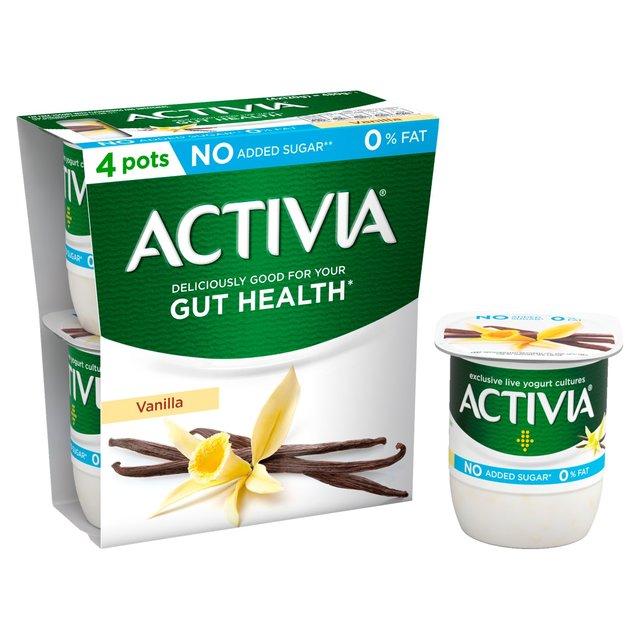 Activia Vanilla 0% Fat