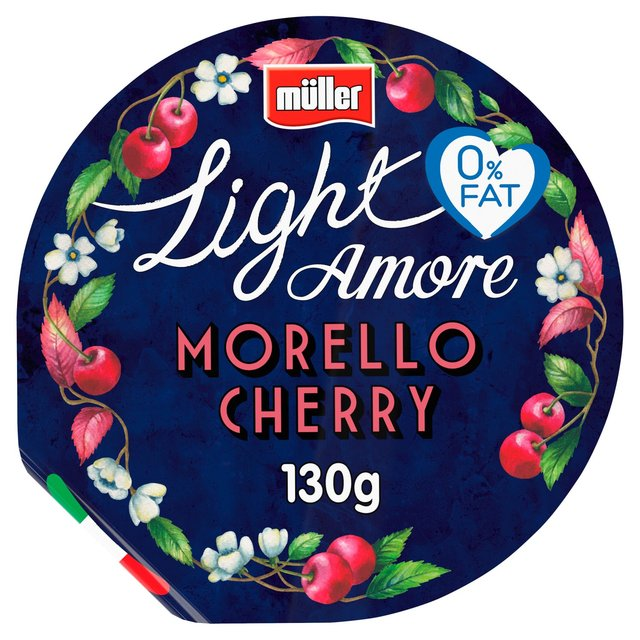 Muller Light Amore Morello Cherry Yogurt