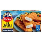 Birds Eye 20 Fish Fingers Omega 3