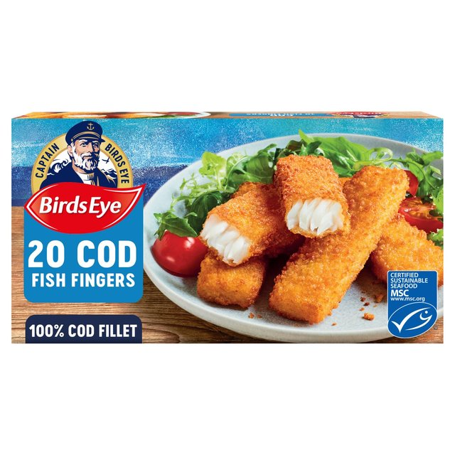 Birds Eye 20 Fish Fingers Cod