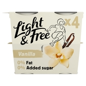 Light & Free Yogurt Vanilla