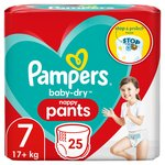 Pampers Baby - Dry Nappy Pants 7