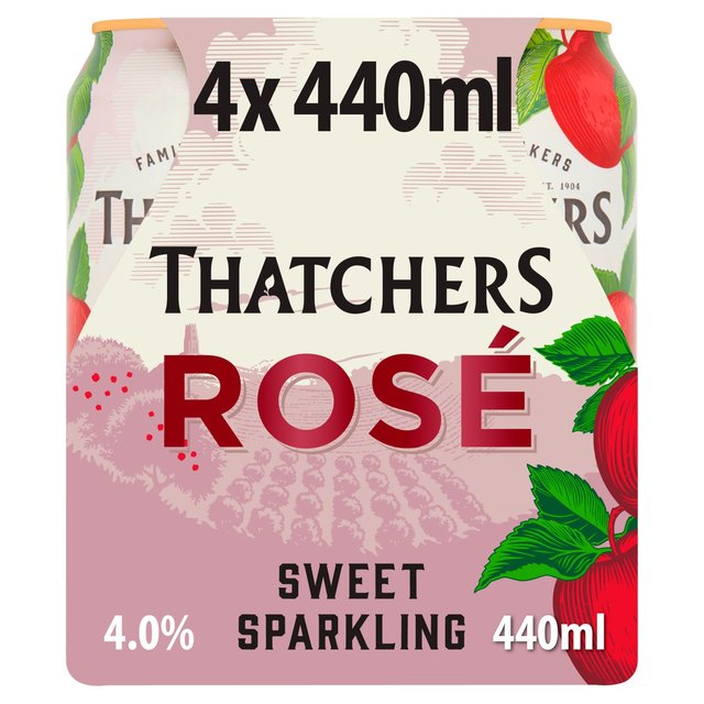 Thatchers Rose Sweet Sparkling Somerset Cider
