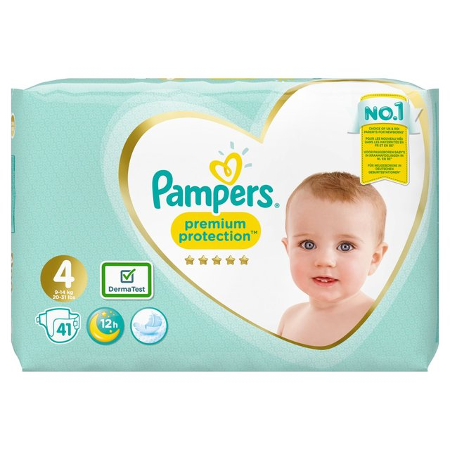 Pampers Premium Protection Size 4 Nappies