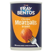 Fray Bentos Meatballs In Gravy
